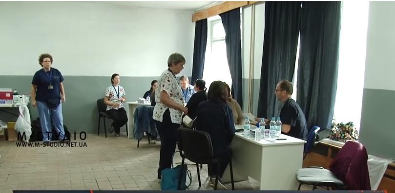 У Мукачеві американські лікарі розпочали прийом громадян