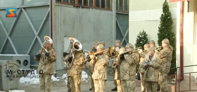 До річниці ЗСУ студенти військової кафедри УжНУ підготували привітальний відео-флешмоб (ВІДЕО)