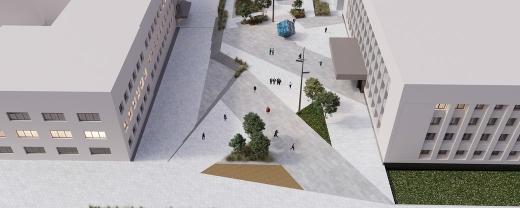 Підземний паркінг на Поштовій площі в Ужгороді вміщатиме 150 автомобілів (ФОТО, ВІДЕО)